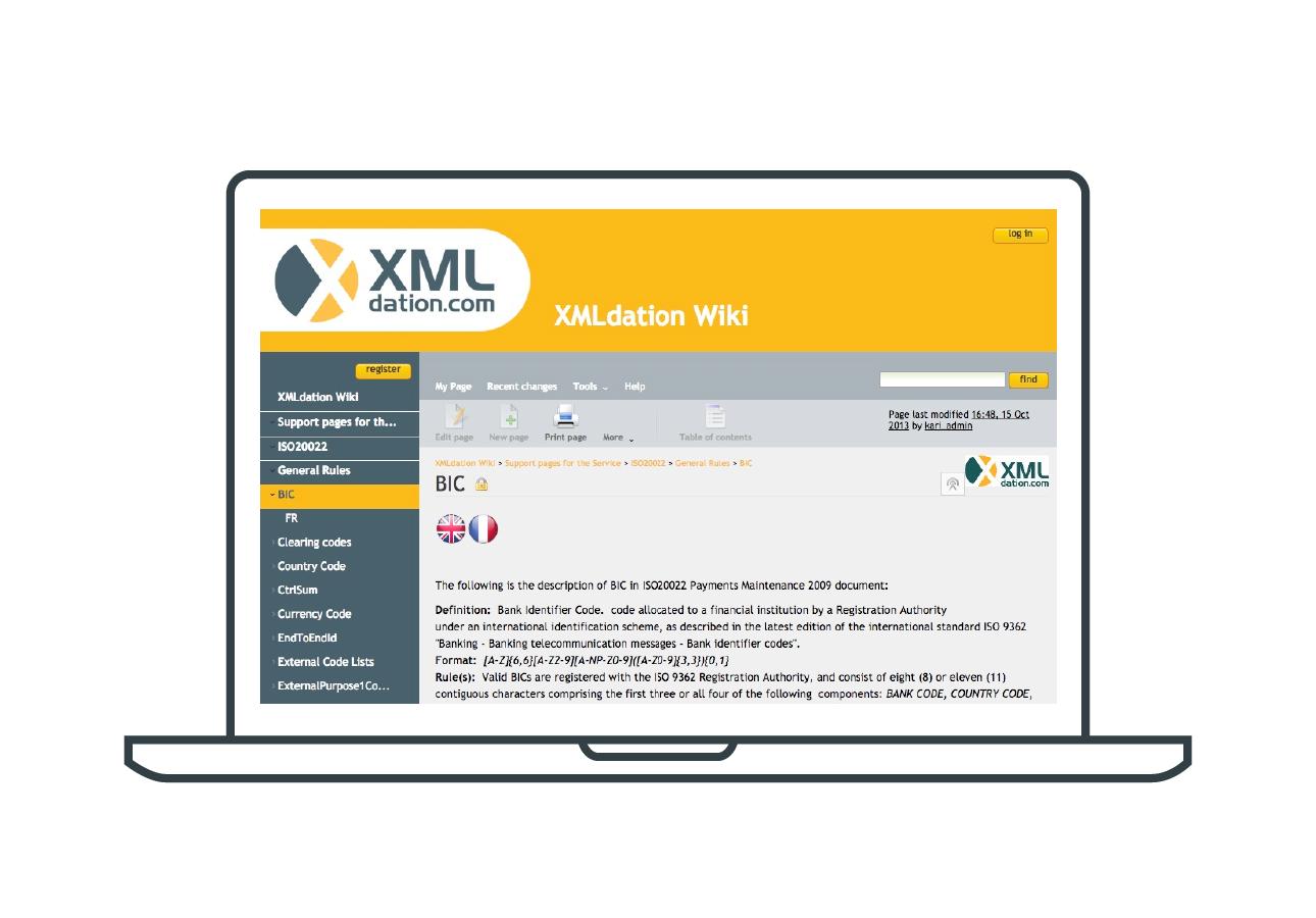 XMLdation Wiki